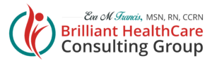 Brilliant Healthcare Group logo for Eva M Francis